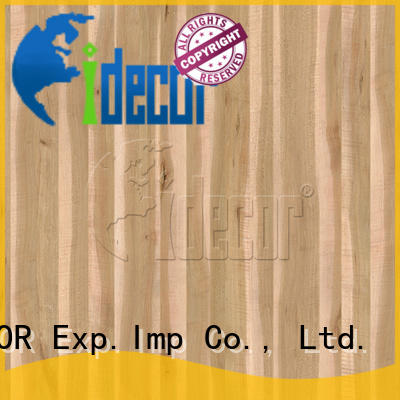 I.DECOR real wood grain tissue paper customized for dining room