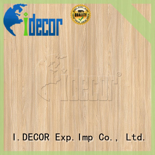 professional wood laminate paper from China for guest room