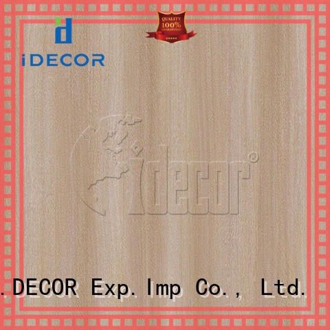 I.DECOR fake wood paper from China for guest room