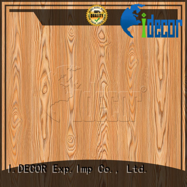 I.DECOR professional wood effect craft paper from China for study room