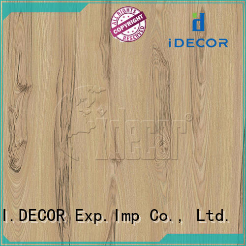 I.DECOR professional wood grain shelf paper customized for drawing room