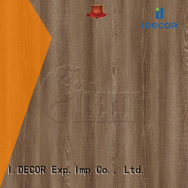 I.DECOR sturdy wood look paper series for dining room