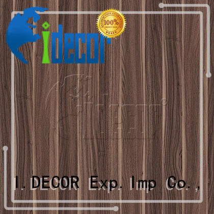 I.DECOR wood design paper series for drawing room