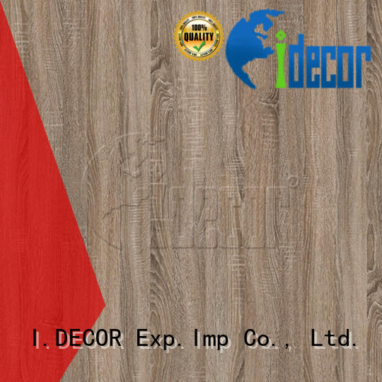I.DECOR professional faux wood grain paper directly sale for master room