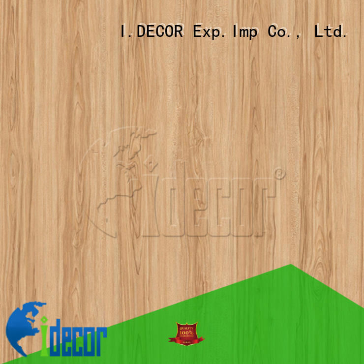I.DECOR real wood paper directly sale for dining room