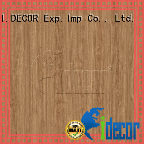 I.DECOR wood grain embossed paper series for master room