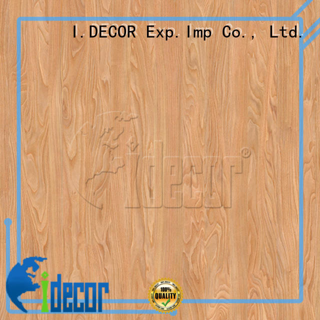I.DECOR printable wood grain paper directly sale for dining room