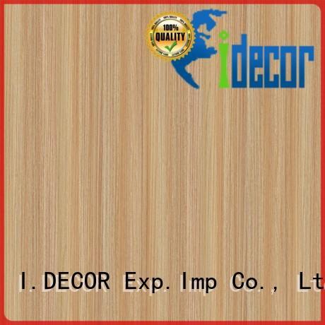 decor paper for laminates teak for shopping center I.DECOR
