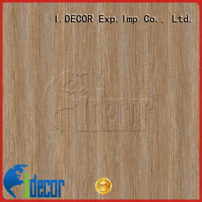 I.DECOR wood grain laminate paper series for drawing room