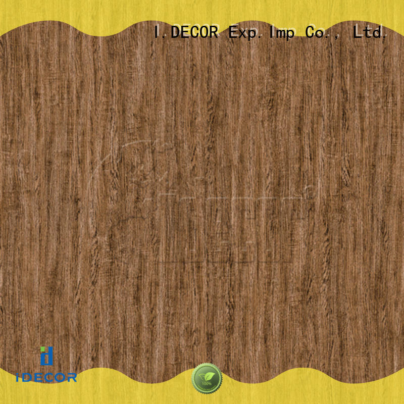 I.DECOR real wood grain decorative paper directly sale for drawing room