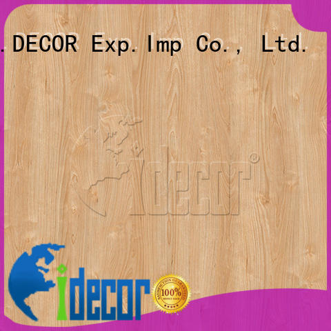 I.DECOR wood grain embossed paper directly sale for master room