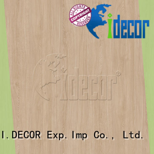 I.DECOR wood effect on paper from China for drawing room