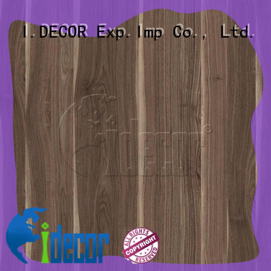 I.DECOR wood texture paper directly sale for dining room