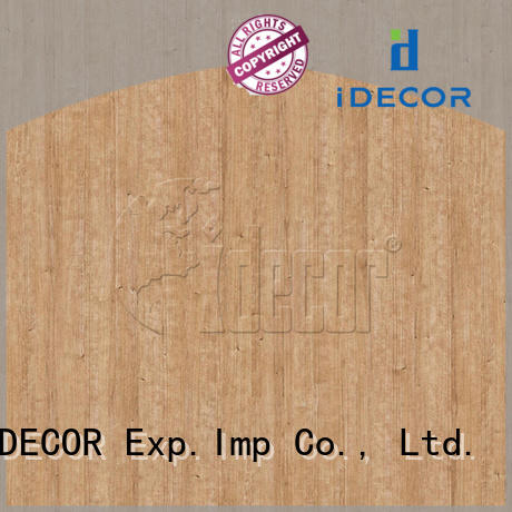 I.DECOR wood texture paper from China for dining room