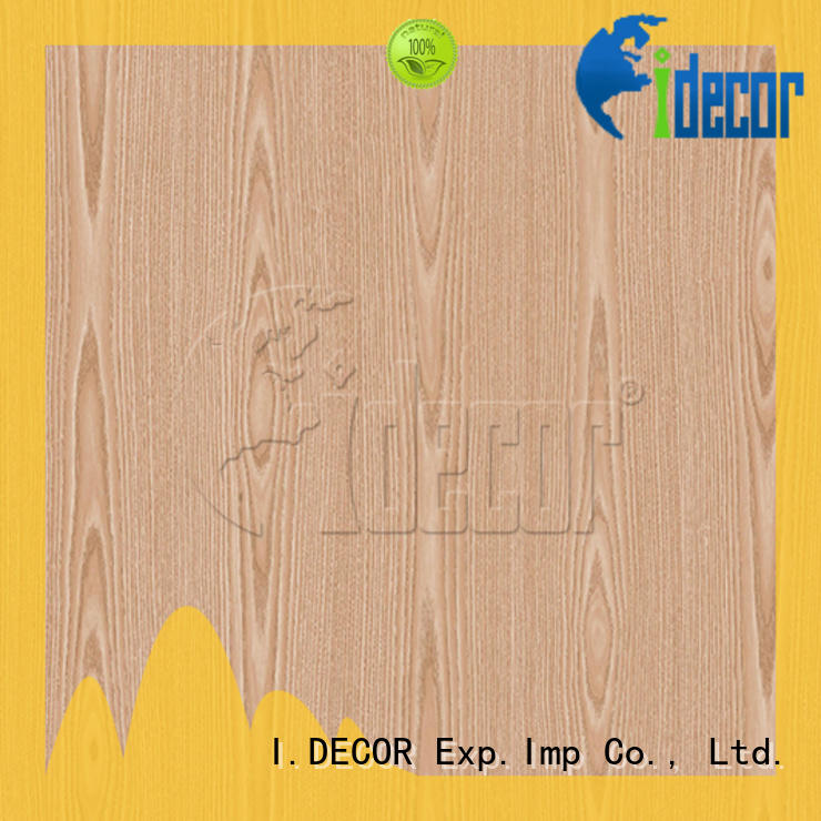 I.DECOR wood grain sticky paper from China for guest room