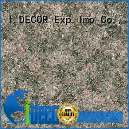 I.DECOR colorful stone effect paper for library