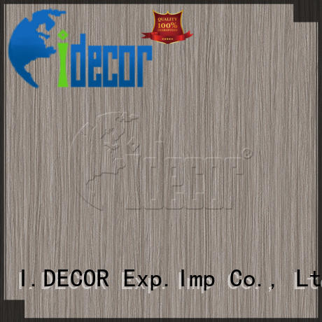 I.DECOR wood design paper directly sale for guest room