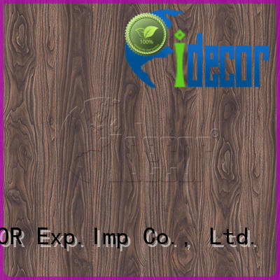 I.DECOR real faux wood grain paper series for dining room