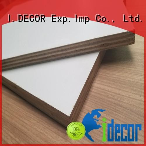 plywood decorative wall panelling interior walls factory price for bar I.DECOR