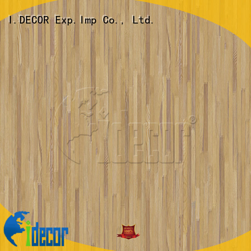 I.DECOR professional wood grain printer paper customized for study room