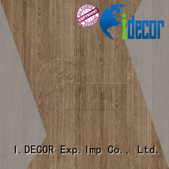 I.DECOR professional wood laminate paper directly sale for drawing room
