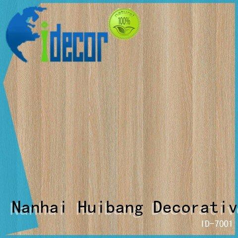 Hot home decor textile walnut melamine idecor I.DECOR Decorative Material